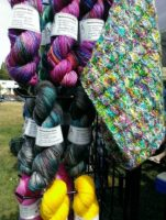 JOMA Yarn at Fibre Events