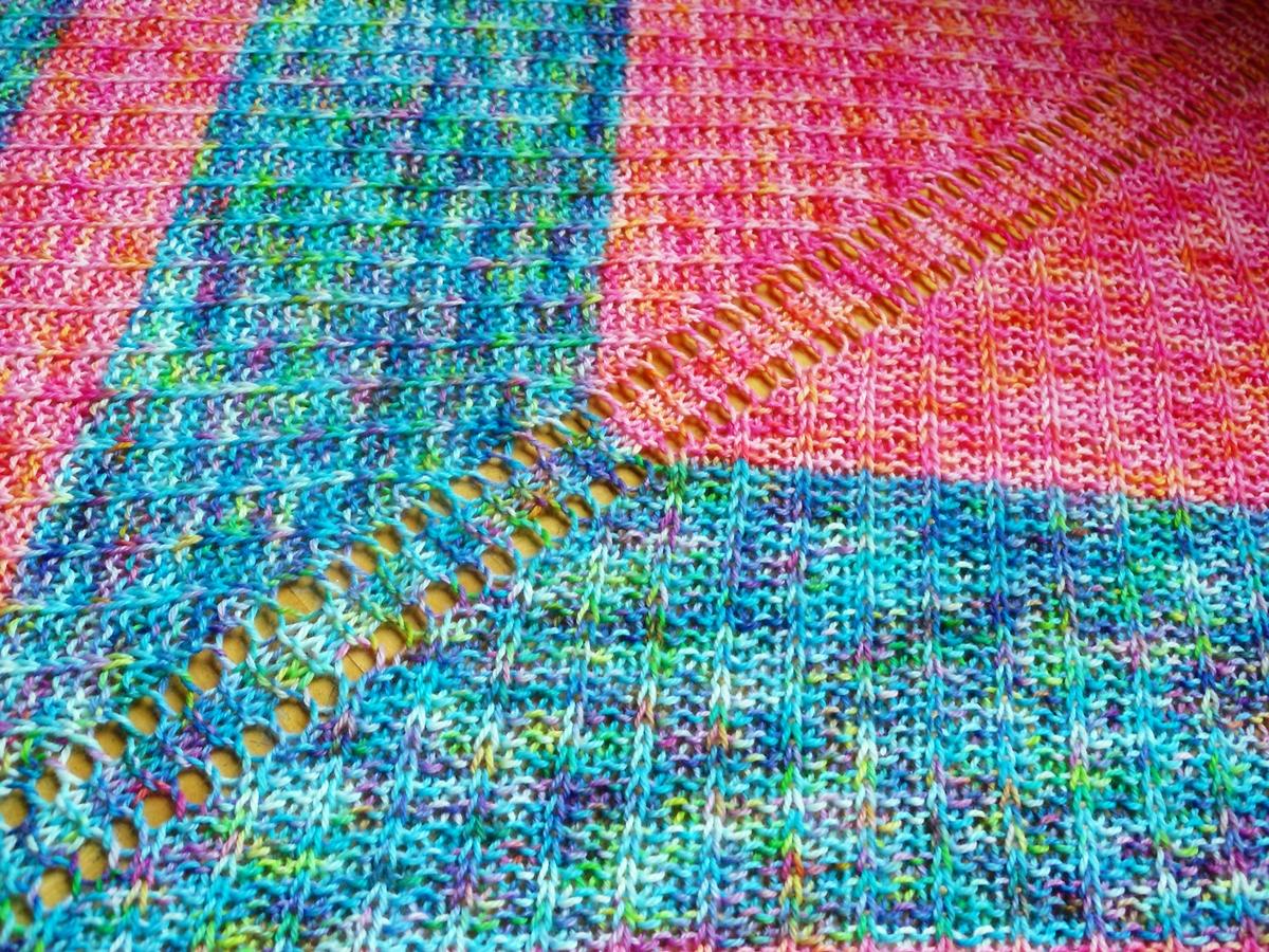 Soul Kitchen Shawl Knitting Pattern – JOMA Yarn by Emjay Bailey